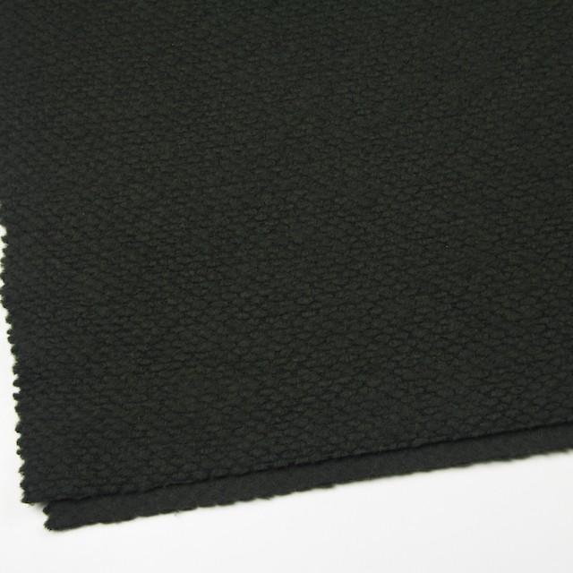 ポリエステル&ウール混×無地(マラカイトグリーン)×ループニット_全2色_イタリア製 イメージ2