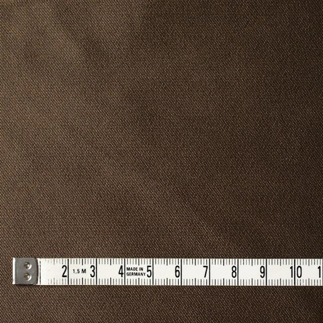 アセテート&ポリエステル×無地(アンティークゴールド)×形状記憶シャンブレーサージ_全5色 イメージ4