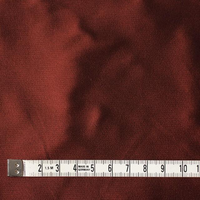アセテート&ポリエステル×無地(ダークバーミリオン)×形状記憶シャンブレーサージ_全5色 イメージ4