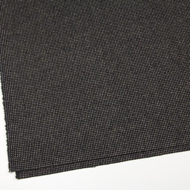 ウール&ポリエステル混×ステッチ(ベージュ&チャコールグレー)×ツイードストレッチ イメージ2