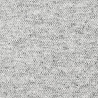 ウール&ナイロン×無地(ライトグレー)×圧縮天竺ニット サムネイル1