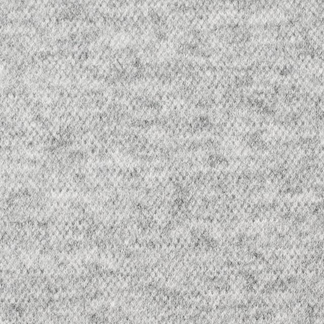 ウール&ナイロン×無地(ライトグレー)×圧縮天竺ニット イメージ1