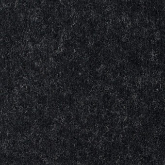 ウール&ナイロン×無地(チャコールブラック)×圧縮Wニット