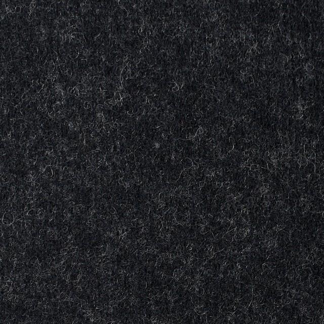 ウール&ナイロン×無地(チャコールブラック)×圧縮Wニット イメージ1