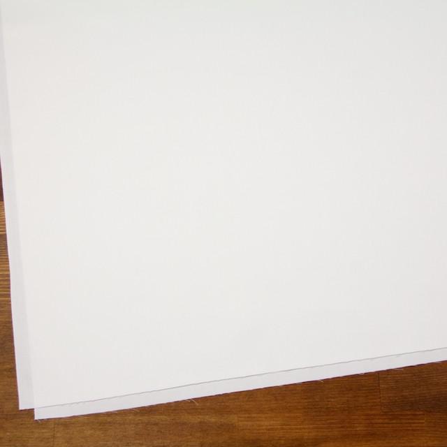コットン×無地(オフホワイト)×サージ_全6色(シリーズ1) イメージ2