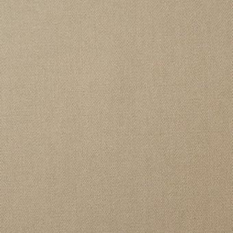 コットン×無地(カーキベージュ)×サージ_全6色(シリーズ1) サムネイル1