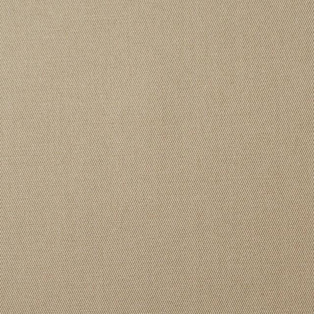 コットン×無地(カーキベージュ)×サージ_全6色(シリーズ1) イメージ1
