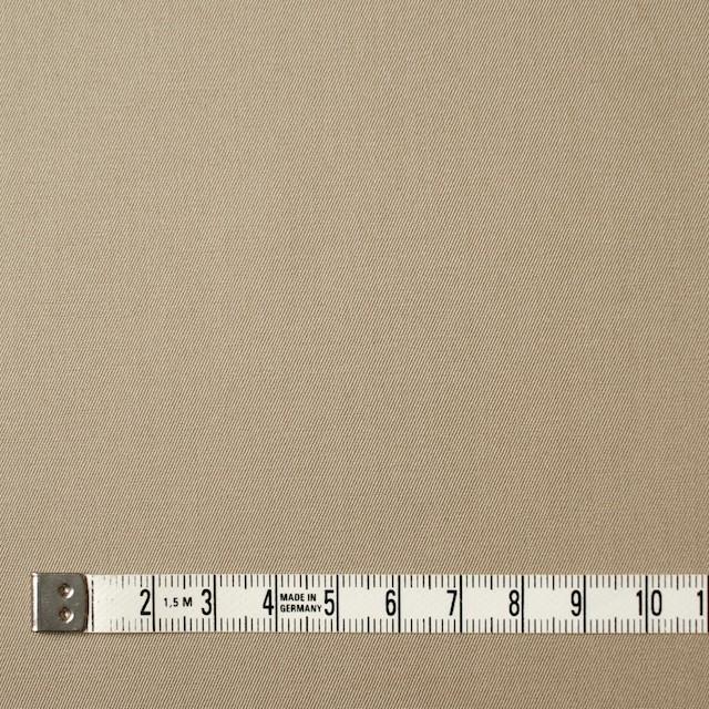 コットン×無地(カーキベージュ)×サージ_全6色(シリーズ1) イメージ4