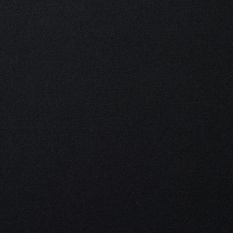 コットン×無地(ブラック)×サージ_全6色(シリーズ1)