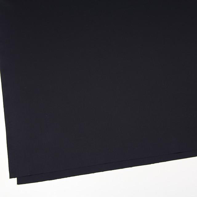 コットン×無地(ブラック)×サージ_全6色(シリーズ1) イメージ2
