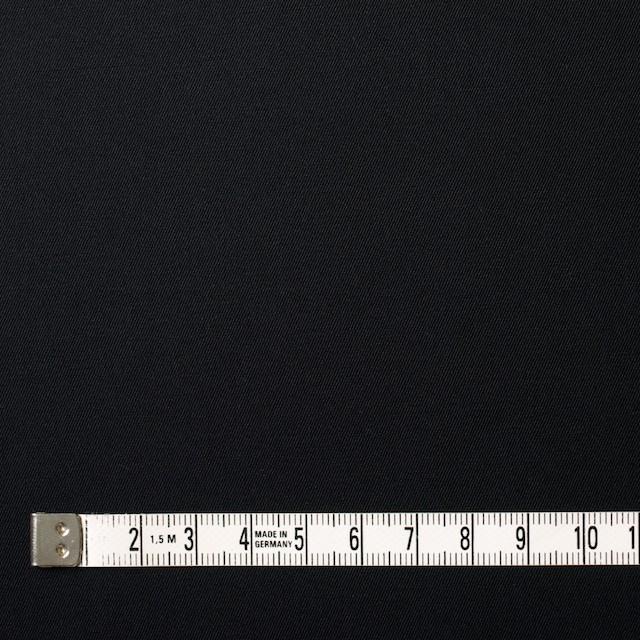 コットン×無地(ブラック)×サージ_全6色(シリーズ1) イメージ4