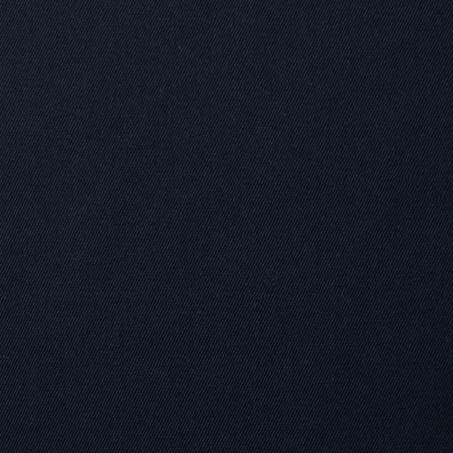 コットン×無地(ネイビー)×サージ_全5色(シリーズ2) イメージ1