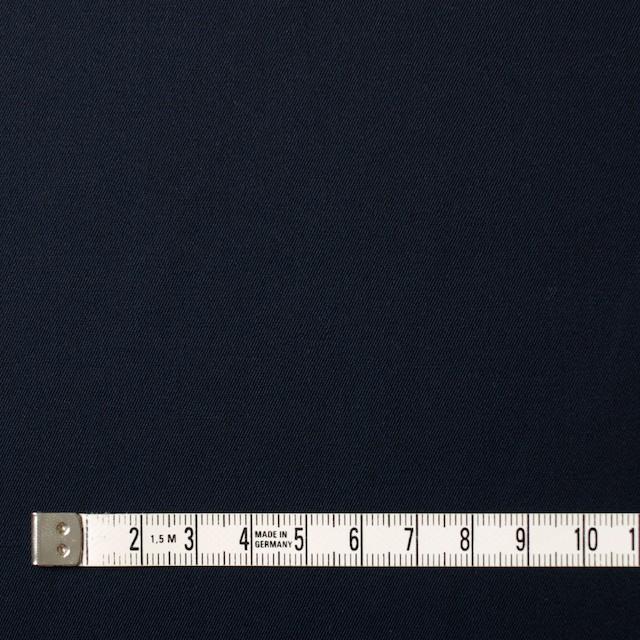 コットン×無地(ネイビー)×サージ_全5色(シリーズ2) イメージ4