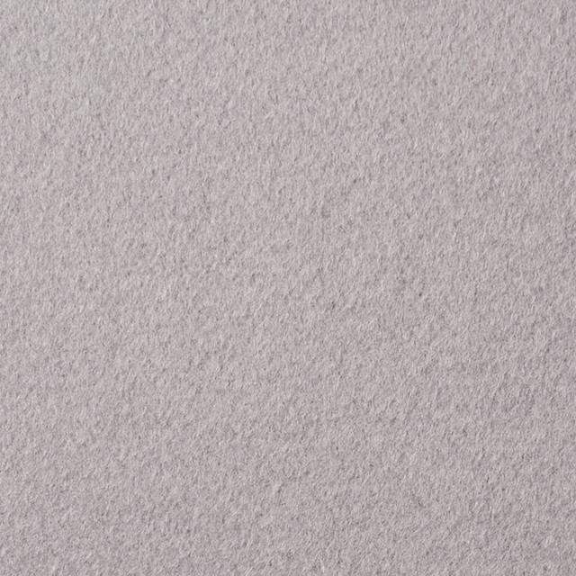 ウール×無地(オパールグレー)×ビーバー イメージ1
