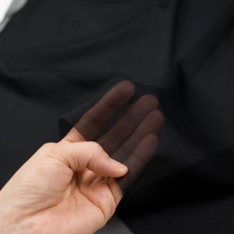 アピコ接着芯(薄地)_ナイロン(ブラック)_ウール素材の全面接着等に_全2色 サムネイル3