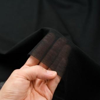アピコ接着芯(中厚地)_ポリエステル&アクリル(ブラック)_ウール素材の襟、見返し等に_全2色 サムネイル3