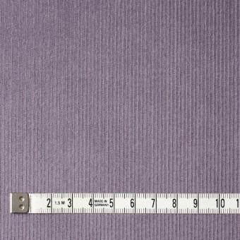 コットン&ポリエステル×無地(グレイッシュパープル)×細コーデュロイ_全4色 サムネイル4