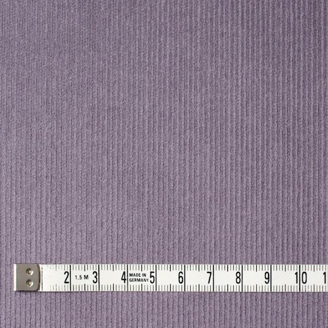 コットン&ポリエステル×無地(グレイッシュパープル)×細コーデュロイ_全4色 イメージ4
