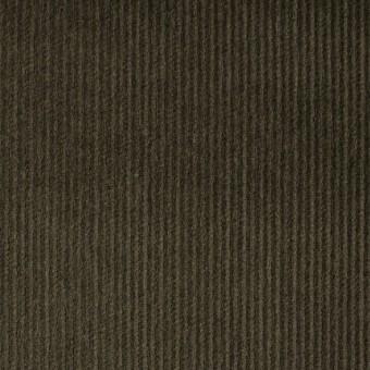 コットン&ポリエステル×無地(カーキグリーン)×細コーデュロイ_全4色