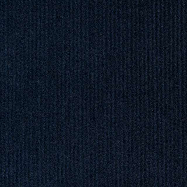 コットン&ポリエステル×無地(ネイビー)×細コーデュロイ_全4色 イメージ1