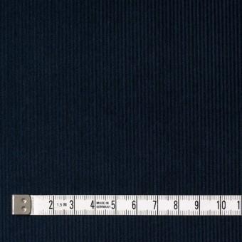 コットン&ポリエステル×無地(ネイビー)×細コーデュロイ_全4色 サムネイル4
