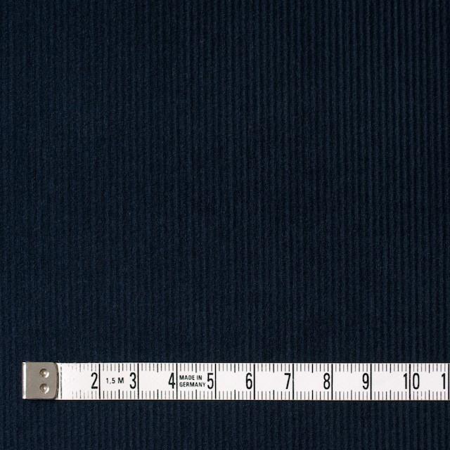 コットン&ポリエステル×無地(ネイビー)×細コーデュロイ_全4色 イメージ4