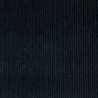 コットン&ポリエステル×無地(チャコールブラック)×細コーデュロイ_全4色