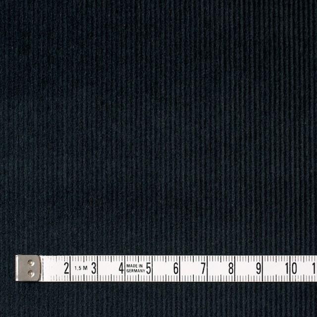 コットン&ポリエステル×無地(チャコールブラック)×細コーデュロイ_全4色 イメージ4