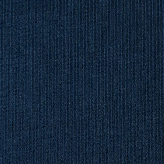 コットン&キュプラ×無地(アイアンネイビー)×コーデュロイ イメージ1