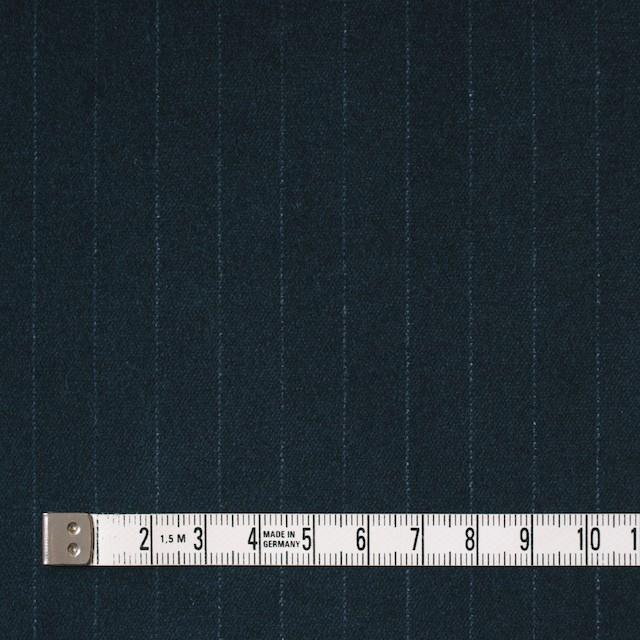 コットン&ポリウレタン×ストライプ(インクブルー)×ベッチン・ストレッチ イメージ4