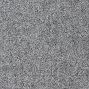 ウール&ナイロン混×無地(グレー)×フラノ・ストレッチ(フランネル)