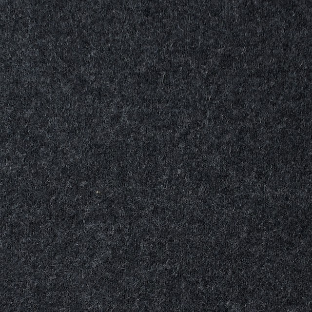 ウール×無地(チャコールグレー)×圧縮Wニット イメージ1