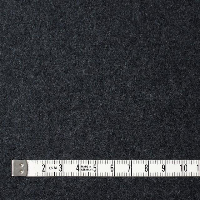 ウール×無地(チャコールグレー)×圧縮Wニット イメージ4