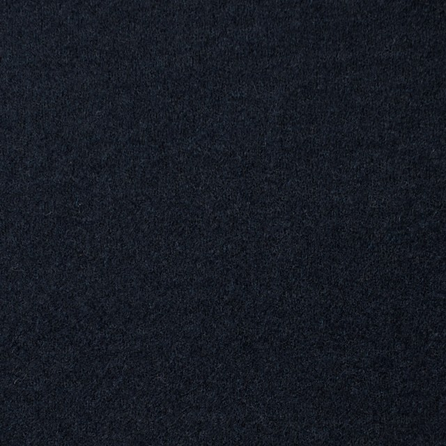 ウール×無地(ダークネイビー)×圧縮Wニット_全3色 イメージ1