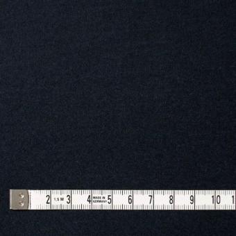 ウール×無地(ダークネイビー)×圧縮Wニット_全3色 サムネイル4