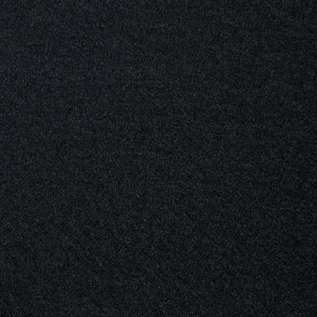 ウール×無地(ブラック)×圧縮Wニット_全3色 イメージ1