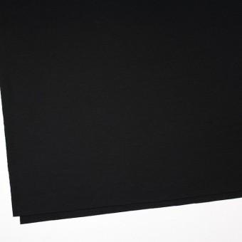 ウール×無地(ブラック)×圧縮Wニット_全3色 サムネイル2