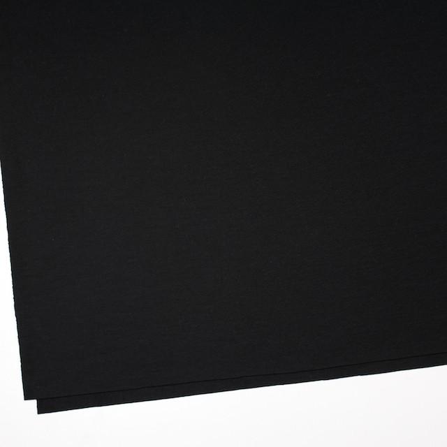 ウール×無地(ブラック)×圧縮Wニット_全3色 イメージ2