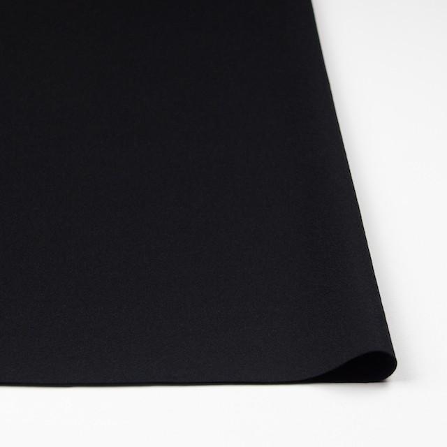 ウール×無地(ブラック)×圧縮Wニット_全3色 イメージ3