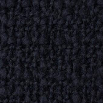 ウール×無地(ダークネイビー)×かわり織_全2色