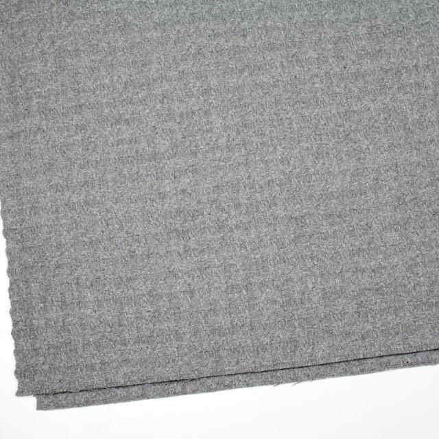 ウール×無地(グレー)×かわり織 イメージ2