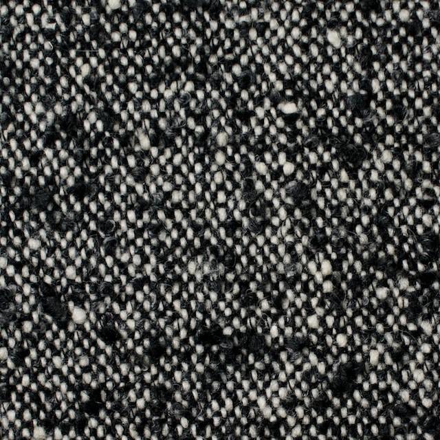 ウール&ポリエステル×ミックス(オフホワイト&ブラック)×ファンシーツイード イメージ1
