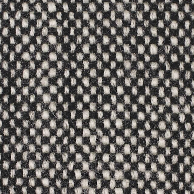 ウール×ミックス(オフホワイト&ブラック)×ツイード イメージ1