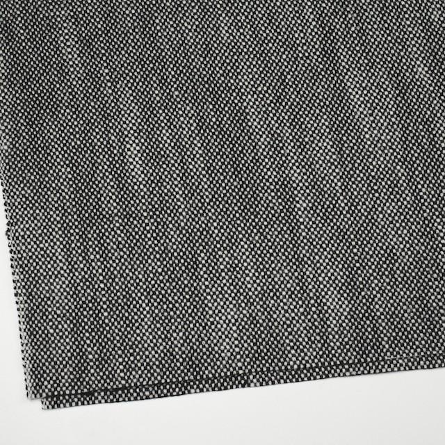 ウール×ミックス(オフホワイト&ブラック)×ツイード イメージ2