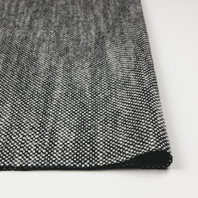 ウール×ミックス(オフホワイト&ブラック)×ツイード イメージ3
