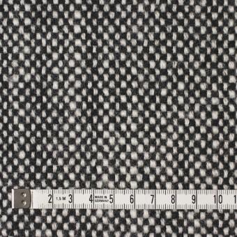 ウール×ミックス(オフホワイト&ブラック)×ツイード サムネイル4