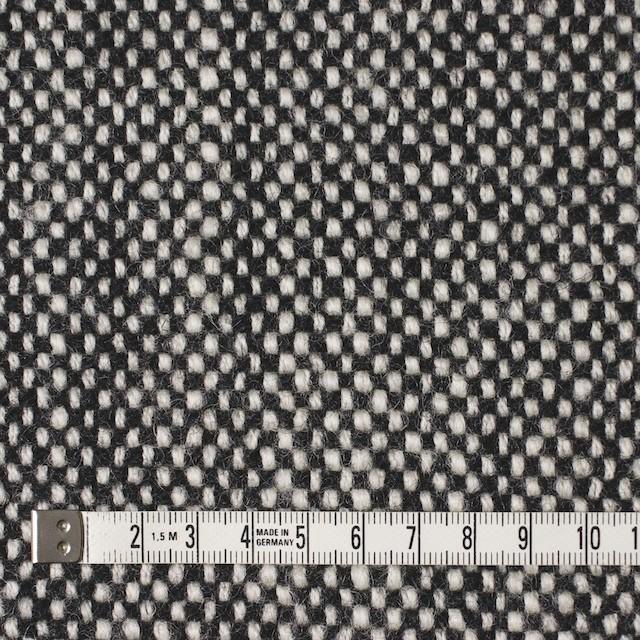 ウール×ミックス(オフホワイト&ブラック)×ツイード イメージ4