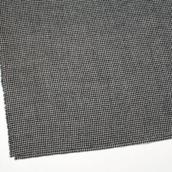 ウール×チェック(アイボリー&ブラック)×千鳥格子ガーゼ サムネイル2