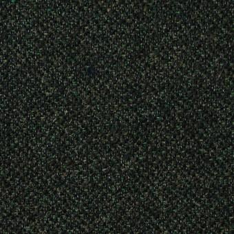 ウール&ポリエステル×ミックス(グリーン&ブラック)×ツイード