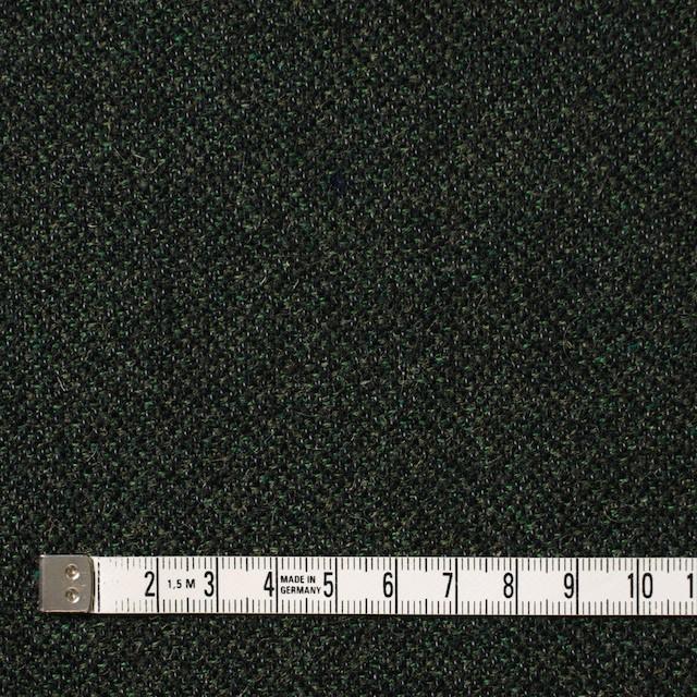 ウール&ポリエステル×ミックス(グリーン&ブラック)×ツイード イメージ4